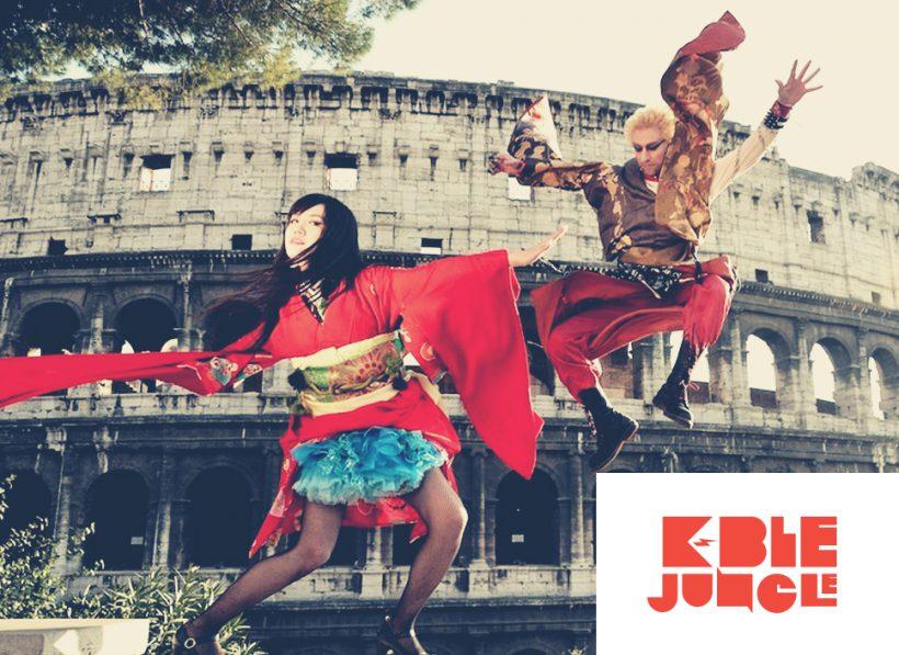 I K-ble Jungle hanno iniziato il loro tour mondiale da Honolulu, Hawaii. Saranno in Italia a marzo e aprile. K-ble Jungle, brand, logo, music, cosplay, japan, tokyo, rockmusic, design, padova, venezia, treviso, vicenza,branding, typography,