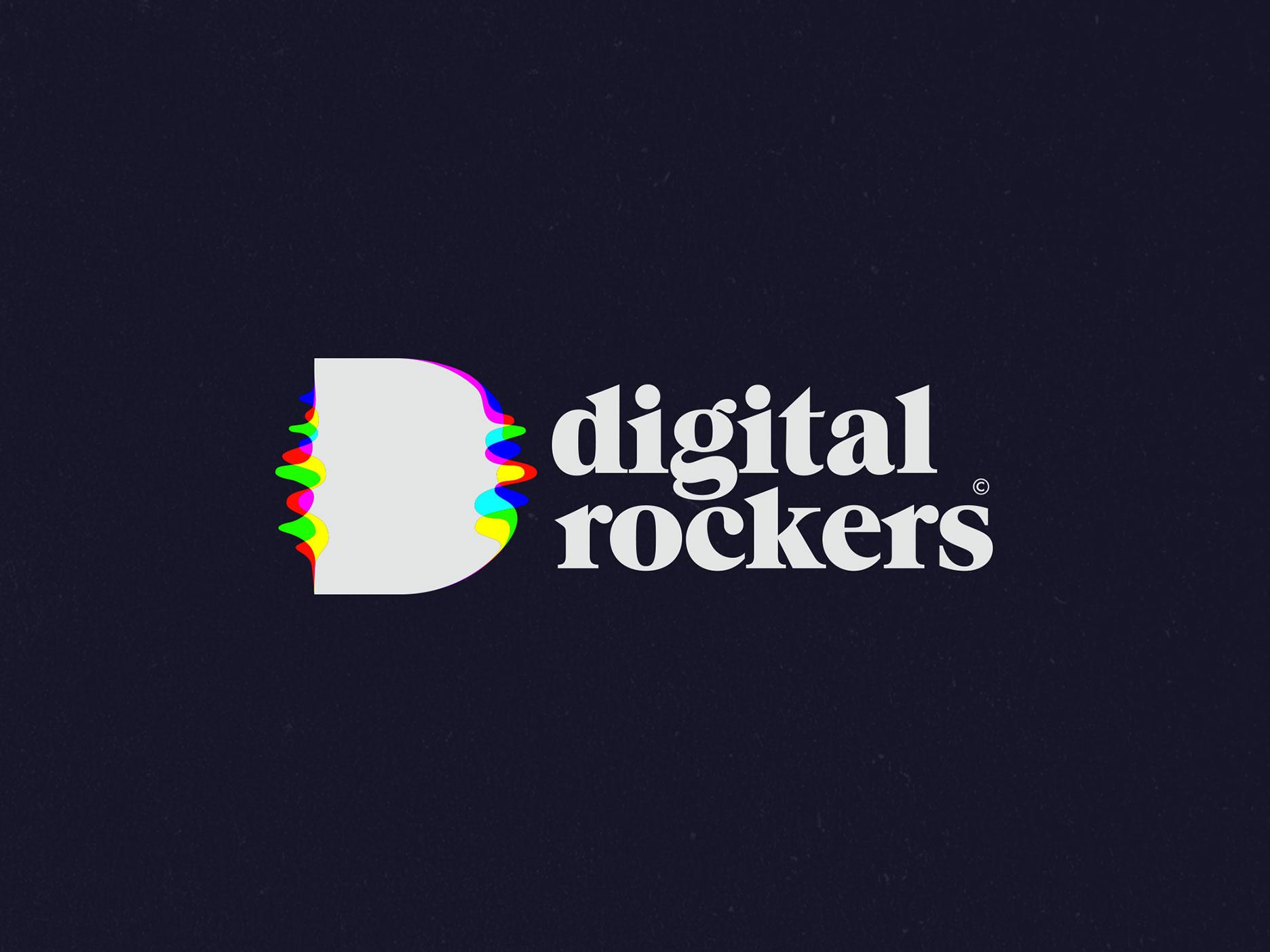 Digital Rockers - logo