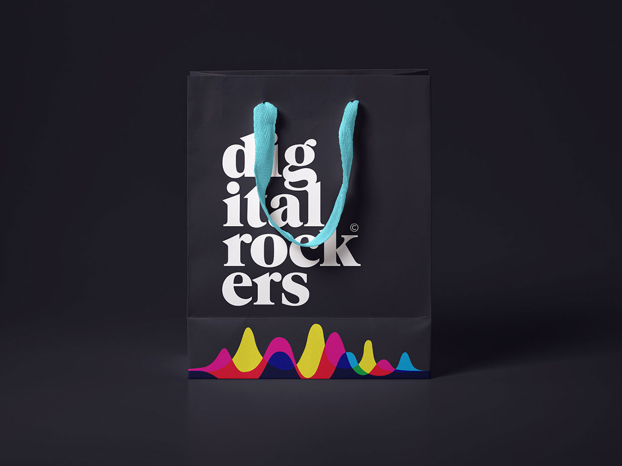 Digital Rockers - shopper